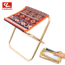 Bearing 80kg Out of doors Nationwide Wind Folding Stool 7075 Aluminum Alloy Grownup Mini Transportable Barbecue Fishing Stool Small Mazar