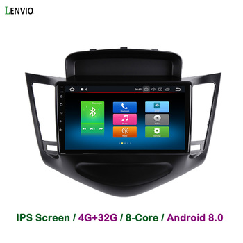 Lenvio 4G RAM 32G ROM Octa Core Android 8.0 CAR DVD GPS Navigation Player For Chevrolet Cruze 2008 2009 2010 2011 Radio DAB IPS