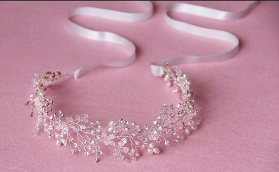 Alta End fio de ouro de cristal Hairbands cabelo princesa cocar acessórios de cabelo acessórios de noiva jóias para mulheres