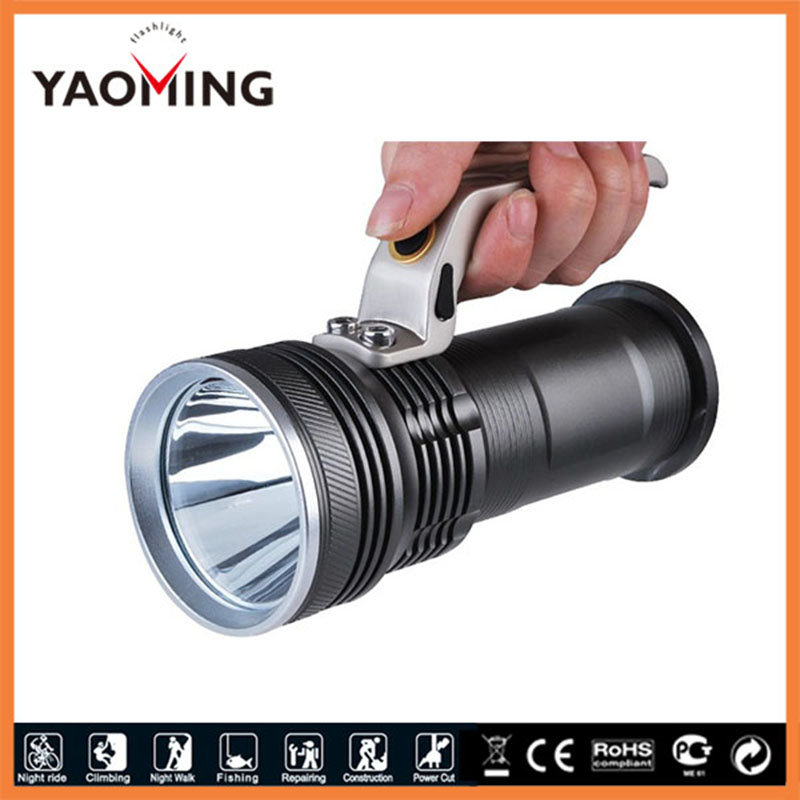 2000 Lumens Cree XM-L Q5 LED 3 Modes rechargeable hand light self-defense led hand Lamp torch Light for Camping 3 6v 2400mah rechargeable battery pack for psp 3000 2000