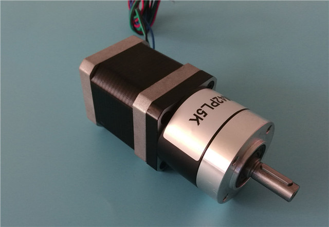High Precision High Torque 42 Planetary Reduction Stepper Motor for 3d Printing Robot 3 Axis 3dof Industrial Arm