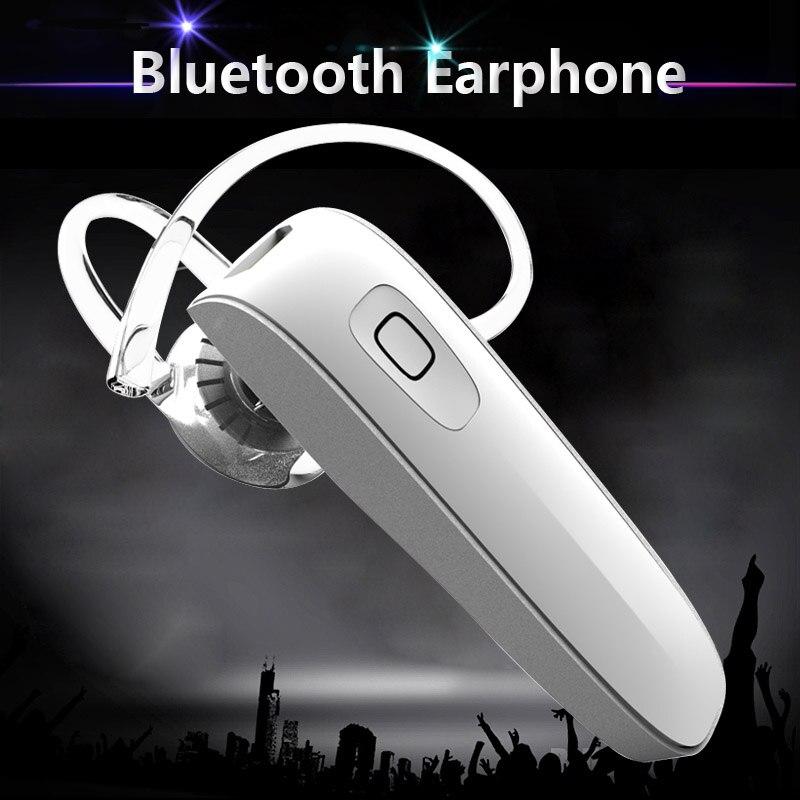 Stereo Music Headset Bluetooth Earphone 4.0 Earhook Headphone Mini Wireless Handfree Universal for Samsung iPhone HTC Xiaomi universal mini wireless handsfree bluetooth headset stereo music radiation proof earphone for iphone for samsung