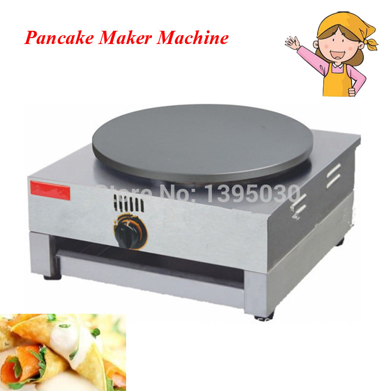 1pc Gas Type Crepe Maker French Crepes Pancakes Naan Bread Maker with English Manual FYA-1.R free shipping round type gas crepe machine french crepe maker