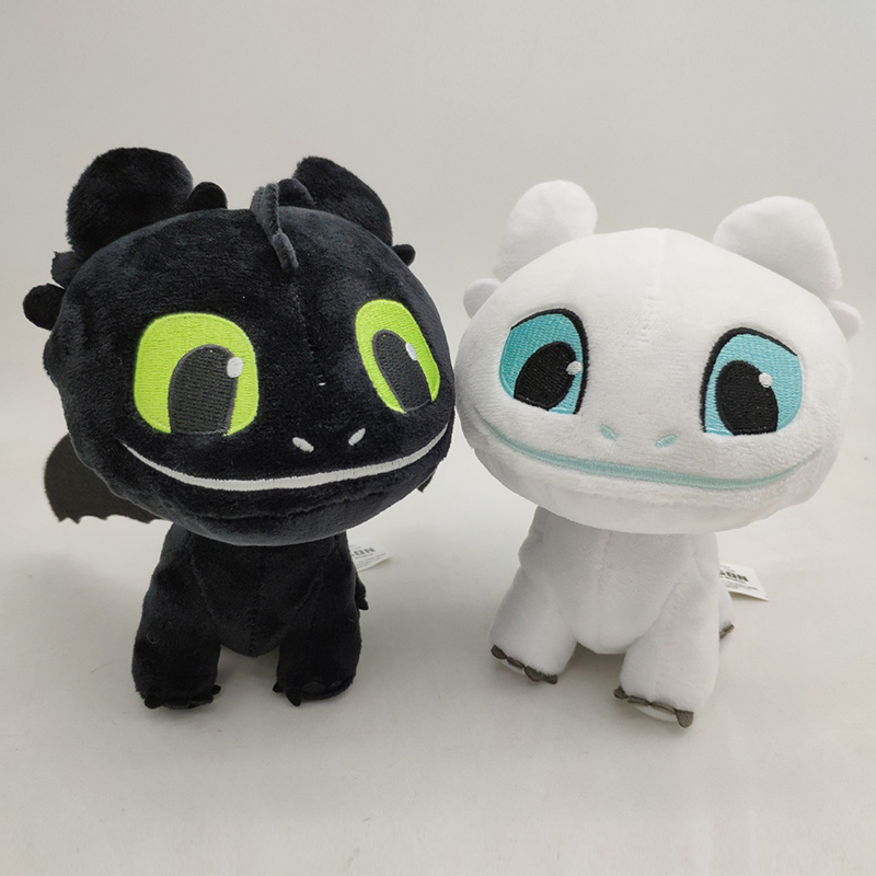 Strict How To Train Your Dragon 3 Plush Toy Light Fury Soft White Dragon Stuffed Animals Doll Toys & Hobbies