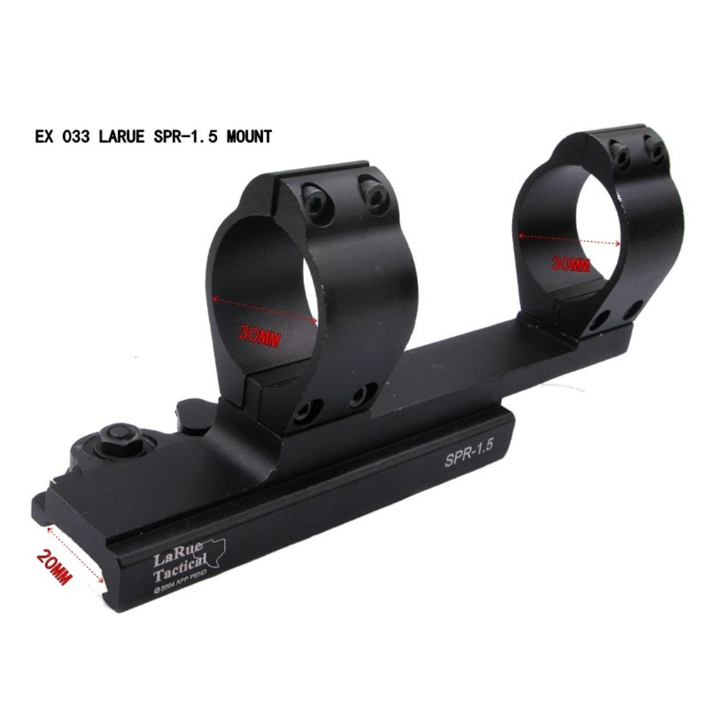 1PC EX 033 Tactical 30mm SPR-1.5 SPR / M4 Scope Mount QD adjustable hunting mount nuit w edp spr