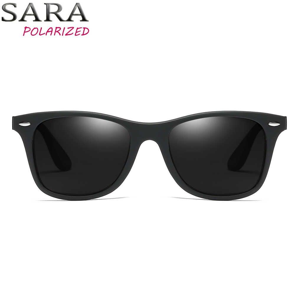 SARA hommes mode lunettes de soleil polarisées hommes pour 2018 conduite carré UV400 lunettes de protection femmes Designer voyage lunettes de soleil