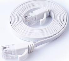 Домашний Улучшенный цветной плоский сетевой кабель Gigabit компьютерный джемпер ультратонкий сетевой кабель ALB