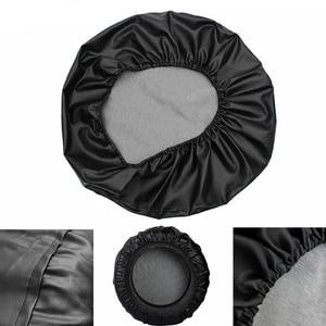 """Image 2 - Cubierta de rueda de repuesto de PVC de 14 """", 15"""" y 16 """", funda protectora para Daihatsu Terios"""