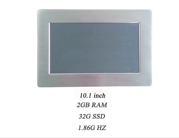 Best Performance 10.1 LCD All In One Industrial Panel PC Touchscreen