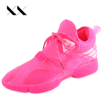 New Brand Fashion Women Casual Shoes Comfortable Breathable Mesh Height Increasing Lightweight Trainers Basket Sport Walking