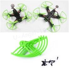 KINGKONG 4 pièces/ensemble – accessoires universels de 4 et 5 pouces, protection d'hélice de pare-choc pour Quadcopter Racer QAV250 210 180
