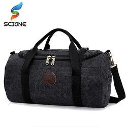 حقيبة رياضية رياضية للرجال والنساء محمولة بسعة كبيرة 28لتر حقيبة سفر للكتف مرنة قابلة للطي تيريلين داخلية