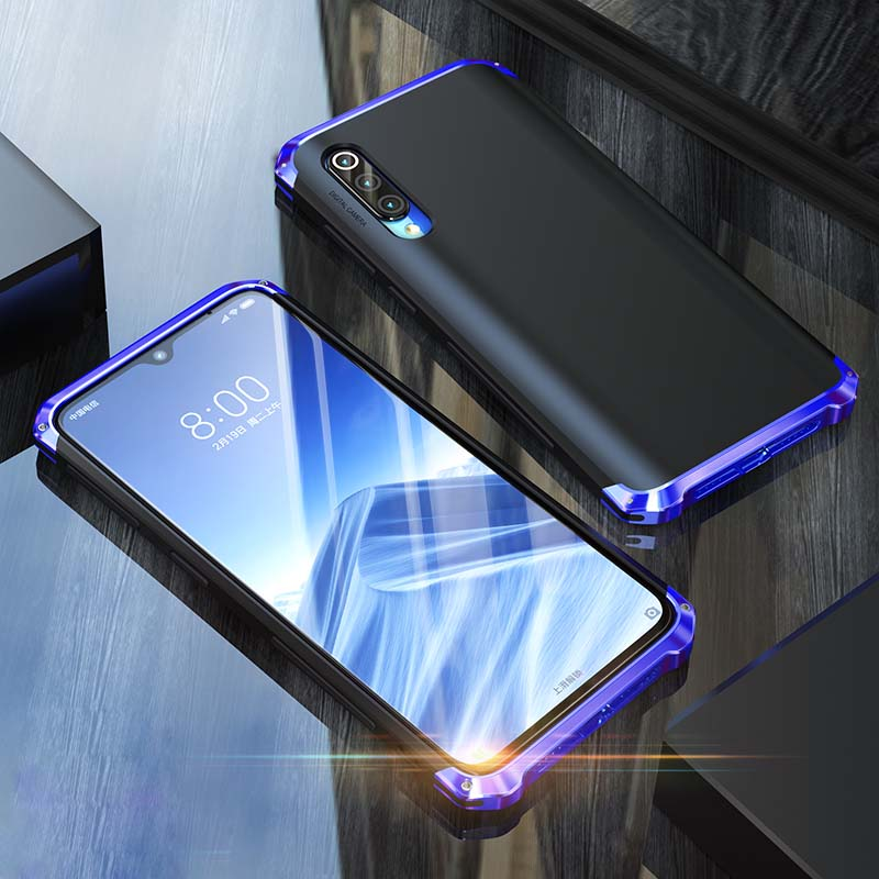 Luxury Original Brand BOBYT Aluminum Metal Frame + PC Hard Cover Coque For Xiaomi Mi 9SE 5.97 inch Phone For Xiaomi Mi 9 KS0094