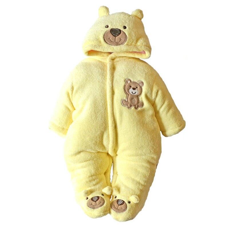 One-Piece Baby Romper Snowsuit Boy Girl Winter Down Snow Casaco Next Kids Clothes Newborn Coat Children Clothing Parkas Costume