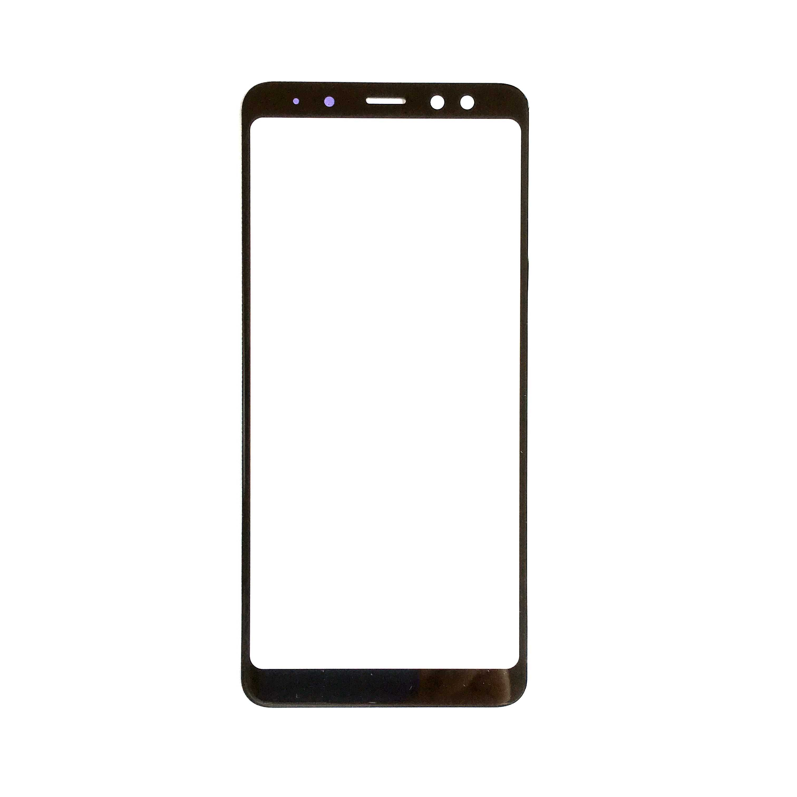 A7 A9 اللوحة الأمامية لسامسونج غالاكسي J4 J6 J8 A6 A8 زائد 2018 J415 A750 شاشة تعمل باللمس الاستشعار شاشة الكريستال السائل محول الأرقام غطاء زجاجي