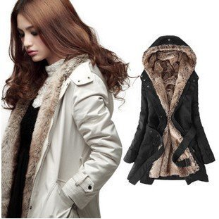 2cd857a8c9b Free shipping Hot sell Women s coat Winter long fur jacket Fur lined coat