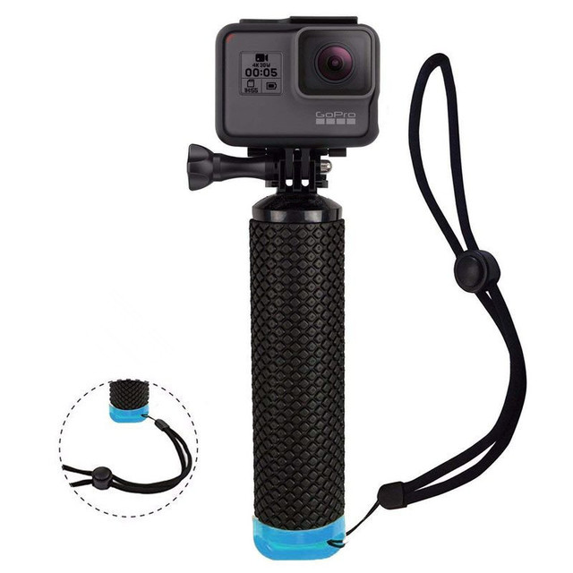 Aperto de Mão Flutuante Para GoPro Camera Herói à prova d' água 7 Sessão Herói 6 5 4 3 + 2 Água Ação Esporte manipulador de câmeras acessórios