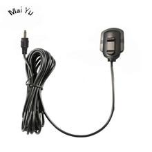 Auto Auto Professionale Microfono a Condensatore Omidirection Finestra di Registrazione con 3.5 Millimetri 2.5 Millimetri Singolo Martinetti per Auto Amplificatore 2M linea