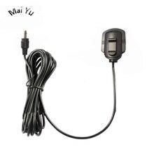 Profesjonalny automatyczny mikrofon pojemnościowy Omidirection nagrywanie okna z 3.5mm 2.5mm Single Jack do wzmacniacza samochodowego 2M Line