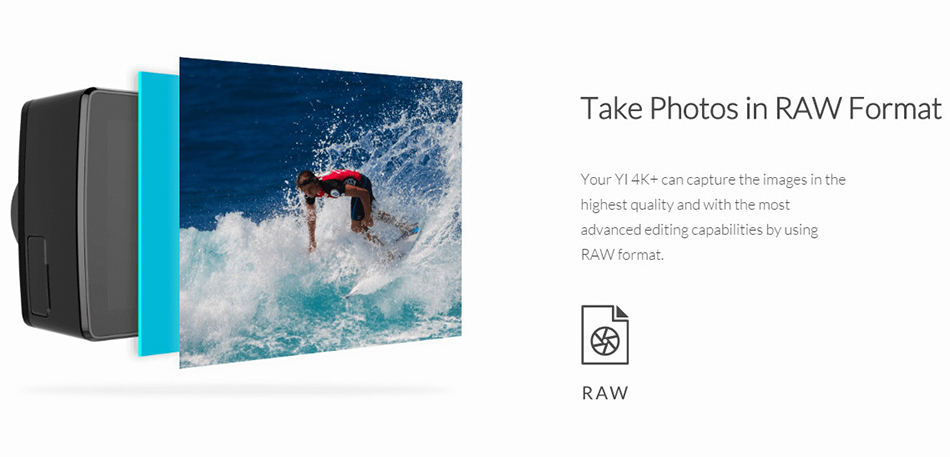 XIAOYI YI 4K+ ACTION SPORTS CAMERA 9