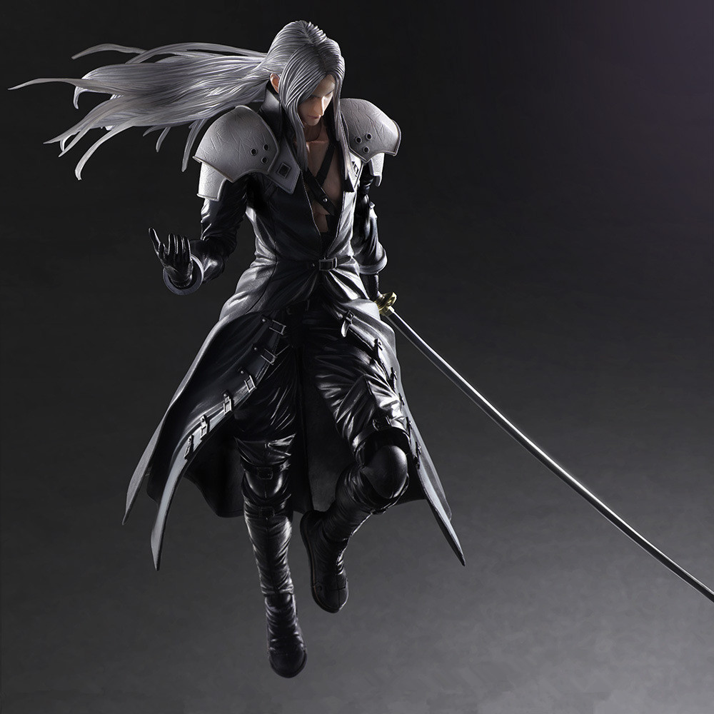Sephiroth Play Arts Kai game Final Fantasy angel Figma harley quinn squall cloud joker PVC action Figure Collection Model Toy high quality 1 2g fpv wireless transmitter and receiver 1 2ghz long range drone av sender with 8 channels