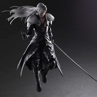 Sephiroth Play Arts Kai game Final Fantasy angel Figma harley quinn squall cloud joker PVC action Figure Collection Model Toy