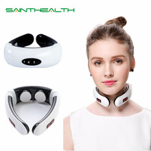 Neck-Massager Health-Care Relaxation Heating Pain-Relief Pulse-Back Electric Infrared