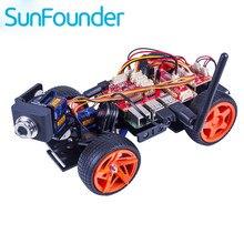 SunFounder Raspberry Pi de Smart Car Video KitV2.0 Visual Gráfica Lenguaje de Programación de Control Remoto por IU en Windows/Mac y Web
