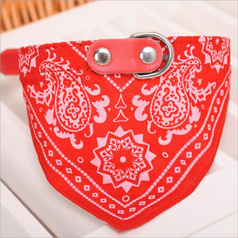2016 Hot Sale Adjustable Pet Dog Cat Puppies Hot Collars Scarf Neckerchief Handsome Triangular binder 5 colors SMLXL sizes (6)