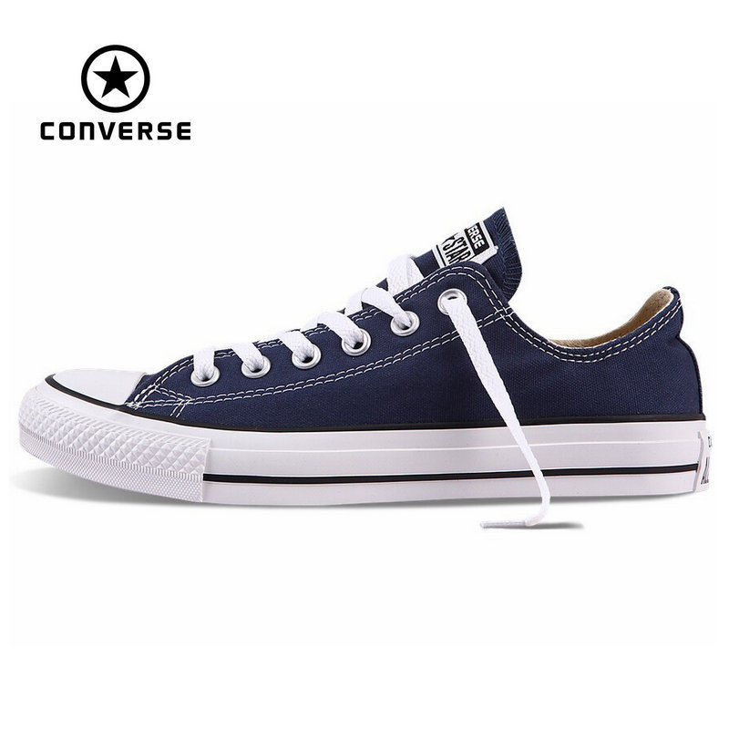 Original Converse all star canvas font b shoes b font men s and women s sneakers