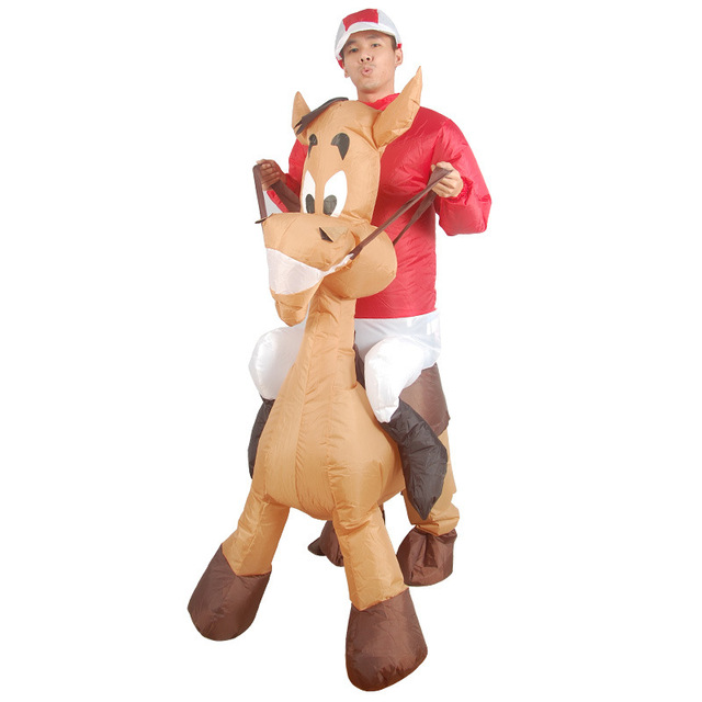 Donke Adult Inflatable Costumes Ride on Jackass Animal Cosplay Suits Halloween Christmas Carnival Party Airblown Moke  sc 1 st  AliExpress.com & Donke Adult Inflatable Costumes Ride on Jackass Animal Cosplay Suits ...