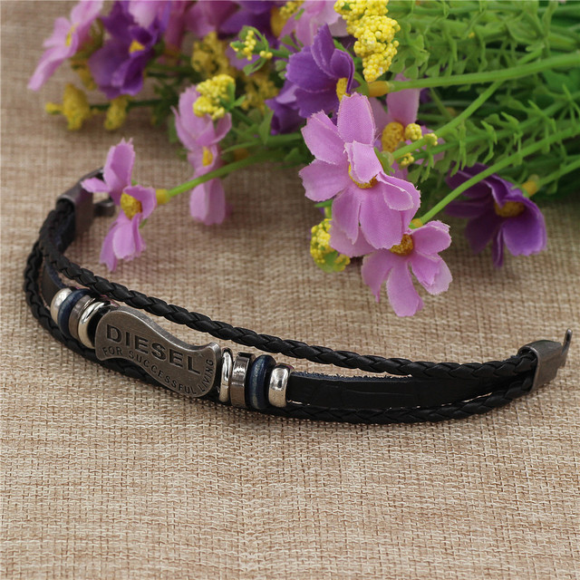 brixini.com - Successful Living Multilayered Braided Leather Bracelet