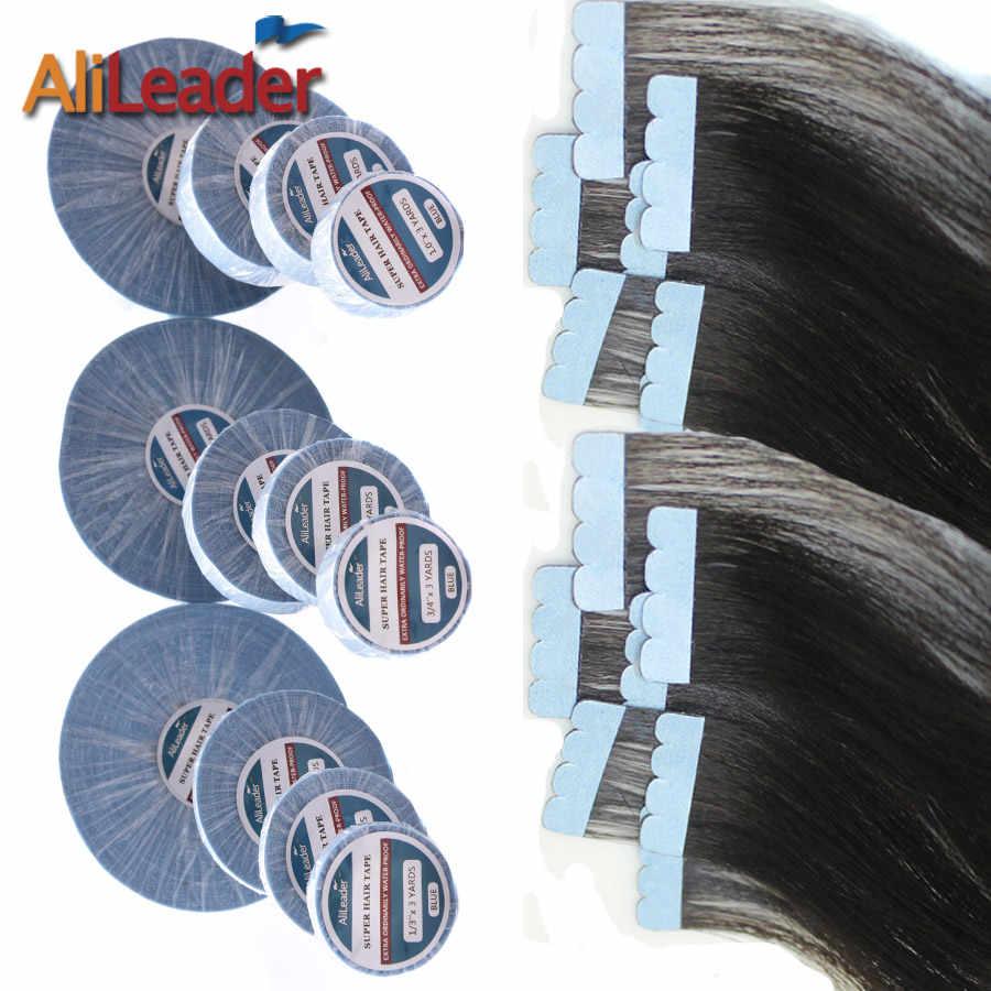 Последние 8 недель Кожа Уток ленты парик клей для ленты Наращивание волос сильная Двусторонняя лента супер кружевной передний клей 0,8 см/1,9 см/2,54 см