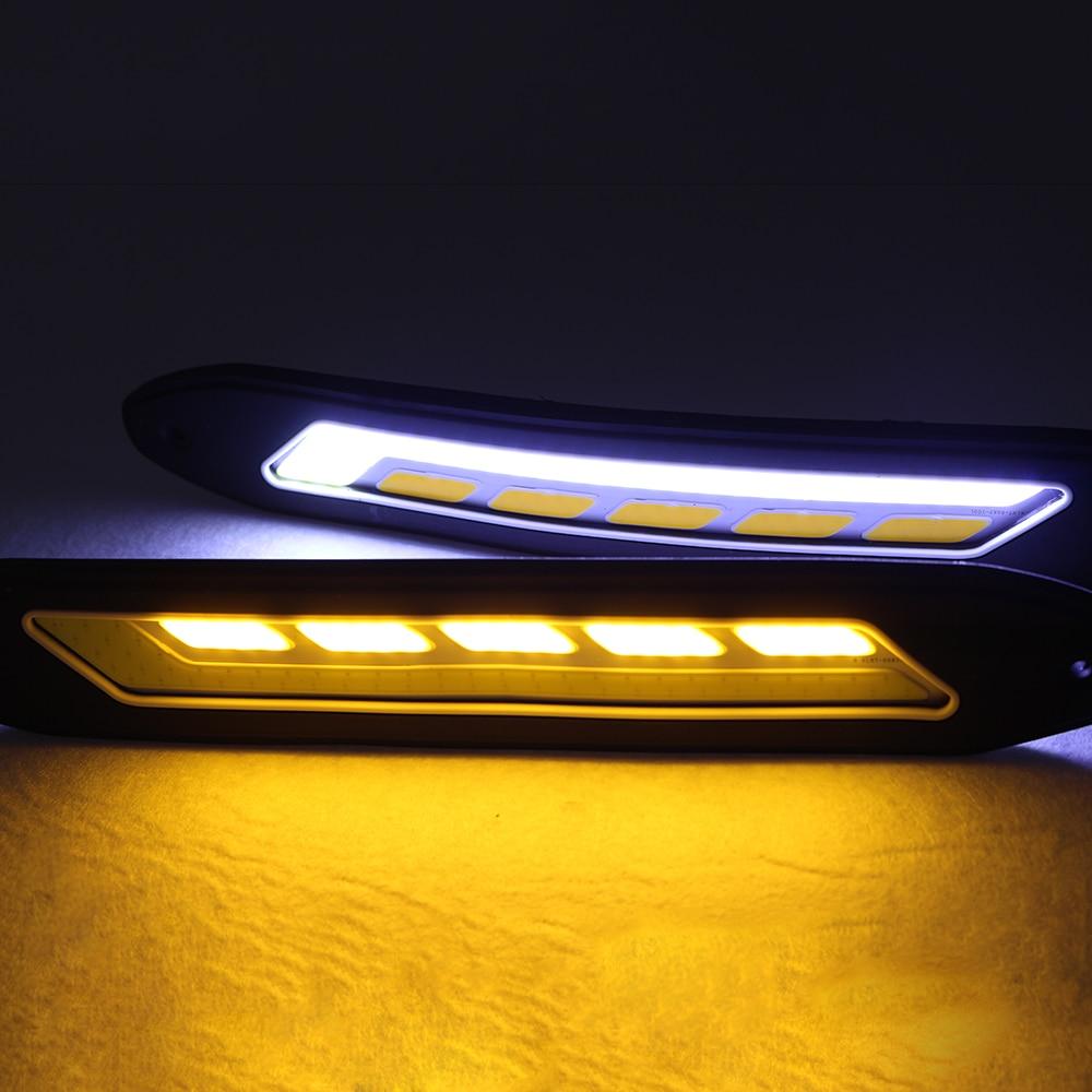 2 SZTUK Elastyczne boczne kierunkowskazy Światła Wodoodporna - Światła samochodowe - Zdjęcie 5