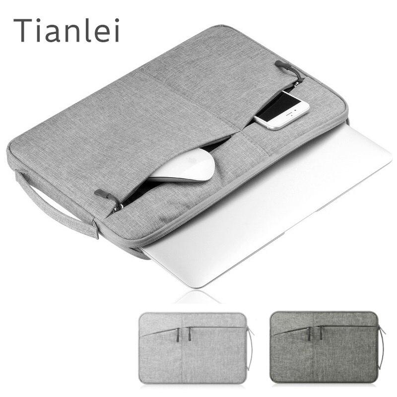 "2018 Brand Tianlei Bag For Laptop 11"",13"",14"",15"",15.6 inch, Handbag Sleeve Case For Macbook 13.3"",10"" Tablet,Free Drop Shipping"
