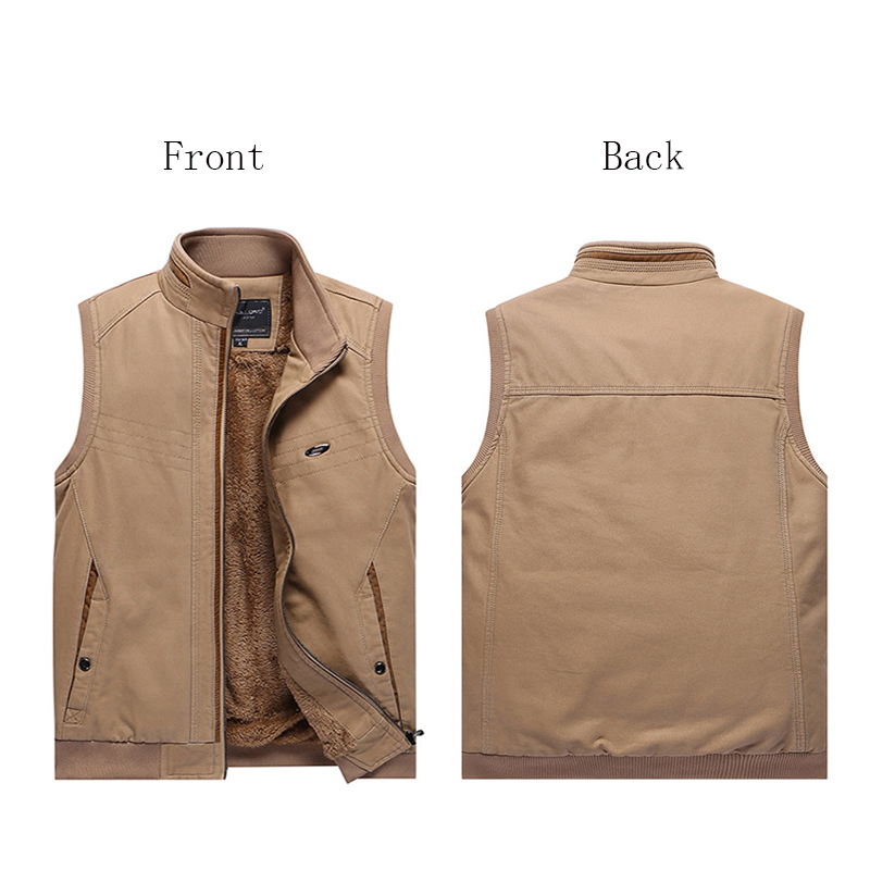Купить с кэшбэком Winter Tactics Stab-Resistant Cut Plus Velvet Large Size Vest Bodyguard Self-Defense Self-Defense To Prevent accidental Injury