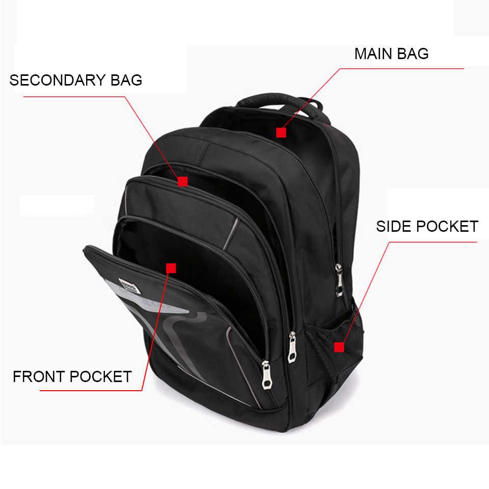 17 Inch Laptop College Sekolah Ransel untuk Anak Perempuan Anak Laki-laki Tas Pria Wanita 15.6 Notebook Hitam Ransel Pria Pria Bagpack Tas back Pack