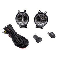 for toyota yaris 2006-2013 h11 wiring harness sockets wire connector switch  + 2 fog