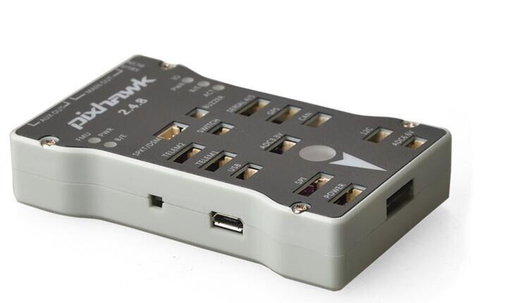 Pixhawk PX4 autopix 2.4.8 controlador de vuelo de 32 bits con interruptor de seguridad y caja de zumbador T F tarjeta para Avión RC multicopter-in Partes y accesorios from Juguetes y pasatiempos    3