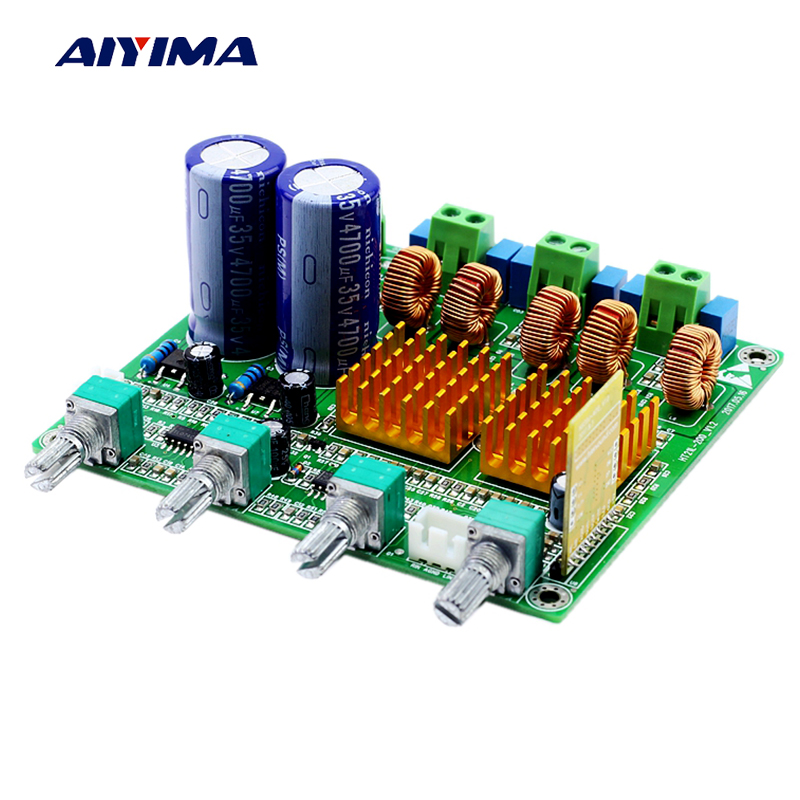 Aiyima Bluetooth 2 1 Audio font b Amplifier b font Board Class D TPA3116D2 Digital Amplifer