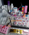 Pro 12 Color UV Gel 8 Zebra Brush Nail Tips Nail Art Tool Kits Sets