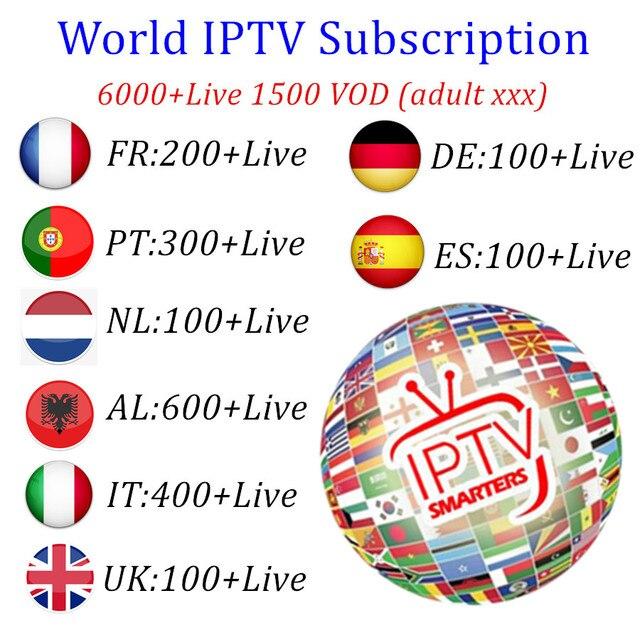 Europe IPTV subscription Dutch IPTV France Portugal IPTV Italia Albania Spain IPTV Nordic support m3u android mag smart tv box