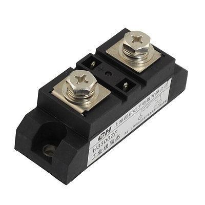 DC to AC 3-32VDC 380VAC 300A SSR Solid State Relay w LED Light normally open single phase solid state relay ssr mgr 1 d48120 120a control dc ac 24 480v