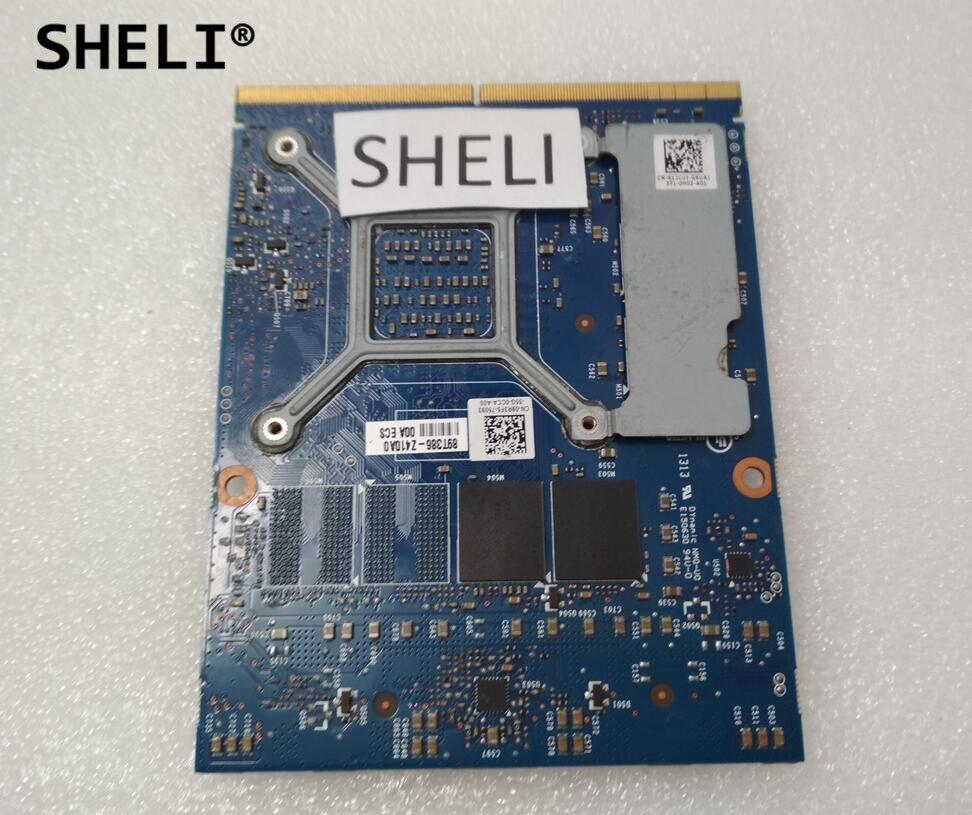 US $118 99 |SHELI GTX 765M GTX765M 2GB Video Card MXM SLI for Dell M15X  M17X M18X Laptop GTX 765 GTX765 Graphics Card N14E GE B A1 CN 09R3F5-in