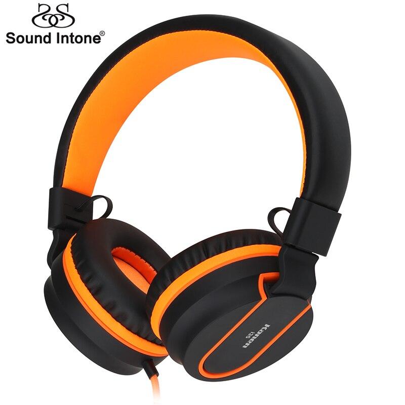 Sound Intonieren I35 Einstellbare Headset Kopfhörer Abnehmbare Earbuds Kopfhörer fone de ouvido mit Mikrofon Für Handy Computer