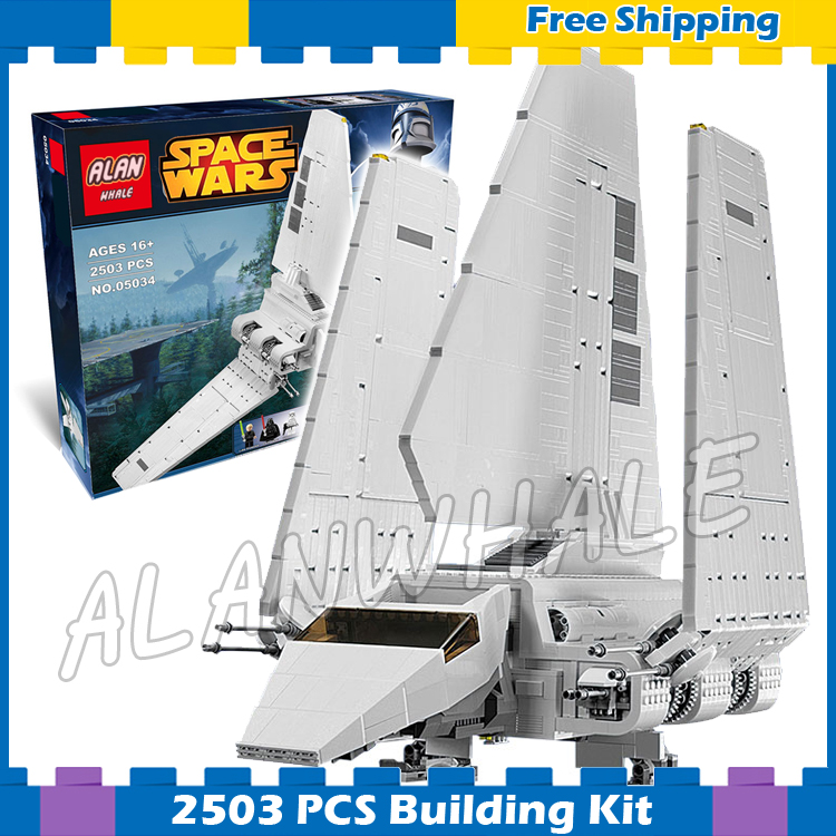 2503pcs Space Wars Universe New Imperial Shuttle 05034 Model Building Blocks Kit Gifts Boys Sets Bricks Compatible With lego kazi 608pcs pirates armada flagship building blocks brinquedos caribbean warship sets the black pearl compatible with bricks