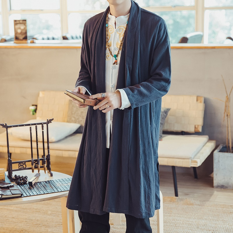 Traditional chinese clothes traditional chinese dress men zen clothing chinese traditional costume long sleeve TA028
