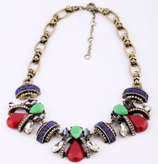 Insectos de La moda Collar de la Declaración Joyería Del Encanto Del Collar de Fábrica Al Por Mayor