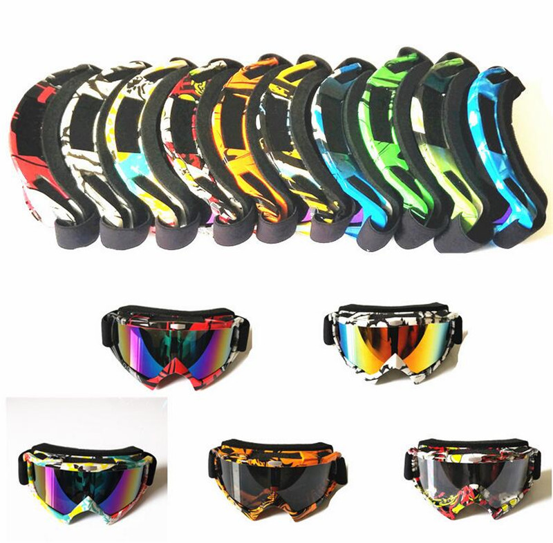 Motocross Off-Road Downhill Dustproof Racing Eyewear Motorcycle Windproof Riding Glasses Ski Snow Snowboard Goggles