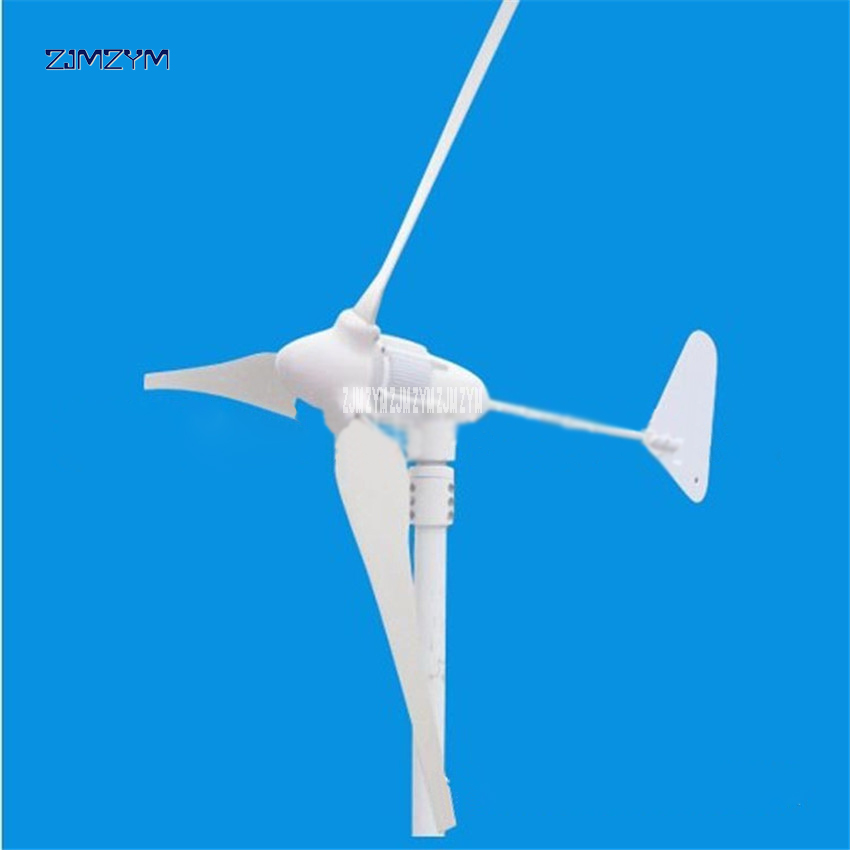 3 blades wind power generator Permanent magnet three-phase alternator AC 12V/24V/48V 600W low start up wind speed 640r/m Z-600W 500w ac 12v 24v 48v brushless rare earth permanent energy generator